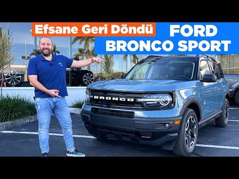 Ford Bronco Sport 2021 İncelemesi ve Fiyatı