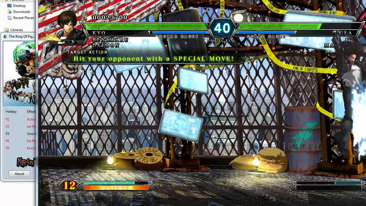 The King Of Fighters Xiii Trainer 5 V1 0 Youtube