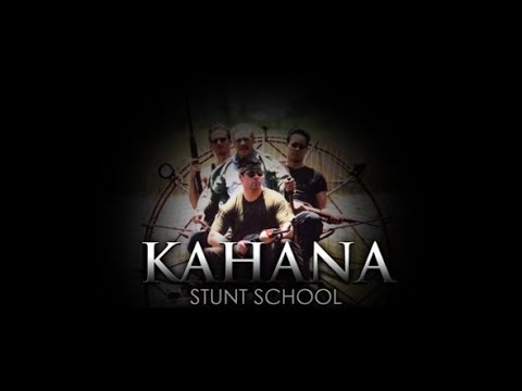 Kim Kahana, stunt coordinator for GUTS,