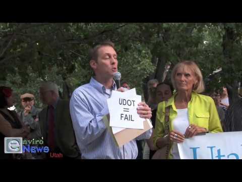 Todd Jensen Preaches a Mass Transit Sermon While Blasting the Utah Legislature and UDOT