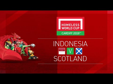 Indonesia vs Scotland | Day 1, Pitch 1 | Homeless World Cup 2019