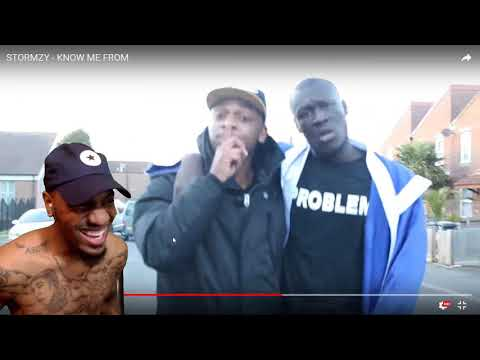 stormzy know me from reaction