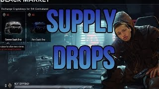 Supply Drop Opening! (Black Ops 3 Black Market)