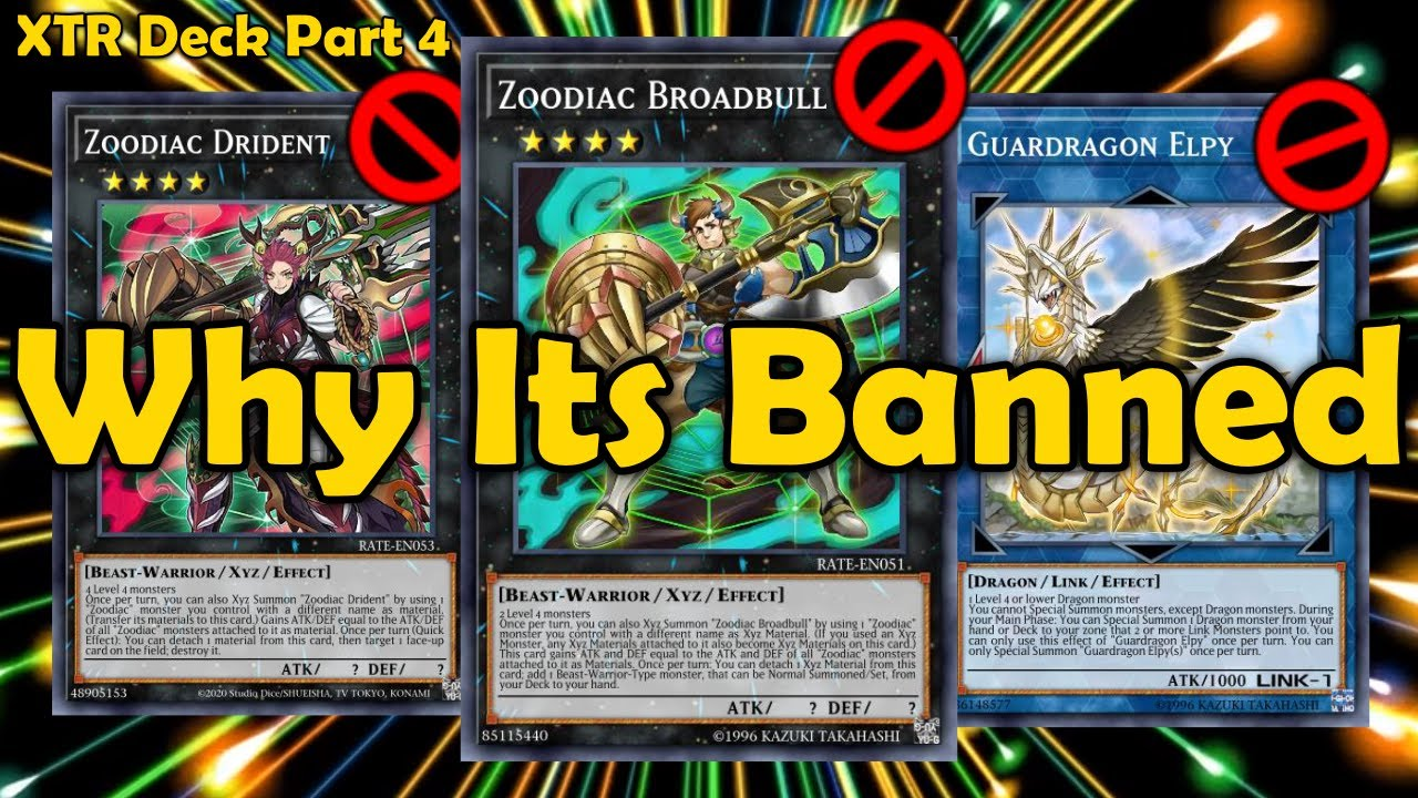 Zoodiac's and Guardragon Elpy - Explaining All Banned Extra Deck Monsters in YuGiOh Part 4