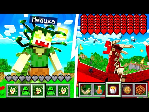 Morphing into EVERY Mythical Creature in MINECRAFT!