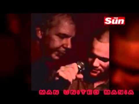 Wayne Rooney singing karaoke in Barbados