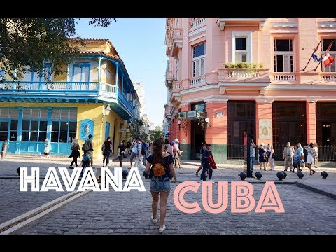 Walks in Havana   CUBA Travel Diary