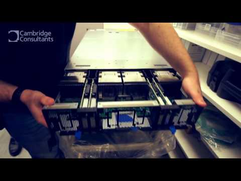 NVIDIA DGX-1 DEEP LEARNING SUPERCOMPUTER (A.I.)- Unboxing, installation, look inside