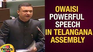 Akbaruddin Owaisi Powerful Speech In Telangana Assembly Session Telangana Politics Mango News