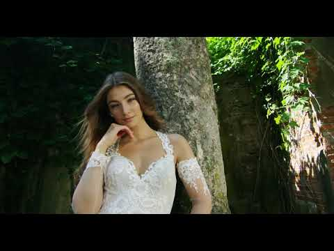 fbcc74323e4f Martin Thornburg Wedding Dress Collection for Spring 2019 - YouTube
