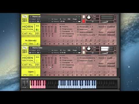 Spitfire Presents: BML201 Horns Vol 1 Walkthrough