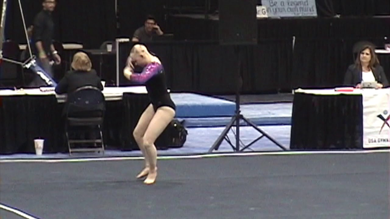 Isabelle West Class Of 2020 Level 10 Regionals 2018 Youtube