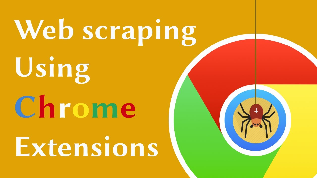 Web Scraping Using Chrome