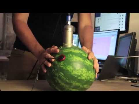 Making musical hits with watermelon (Sound Design)