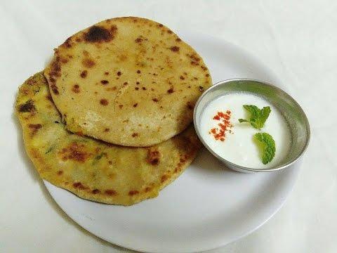 Aloo Methi Paratha