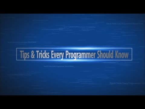 Tips & Tricks Every Programmer Should Know
