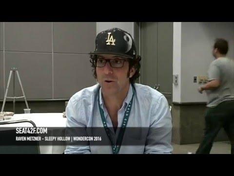 M. Raven Metzner Sleepy Hollow WonderCon 2016 Interview