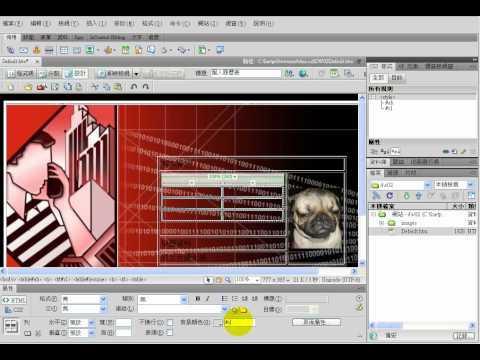 TQC Dreamweaver CS4-201 個人履歷表