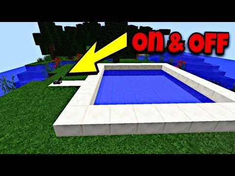 How To Make An Automatic Pool In Minecraft