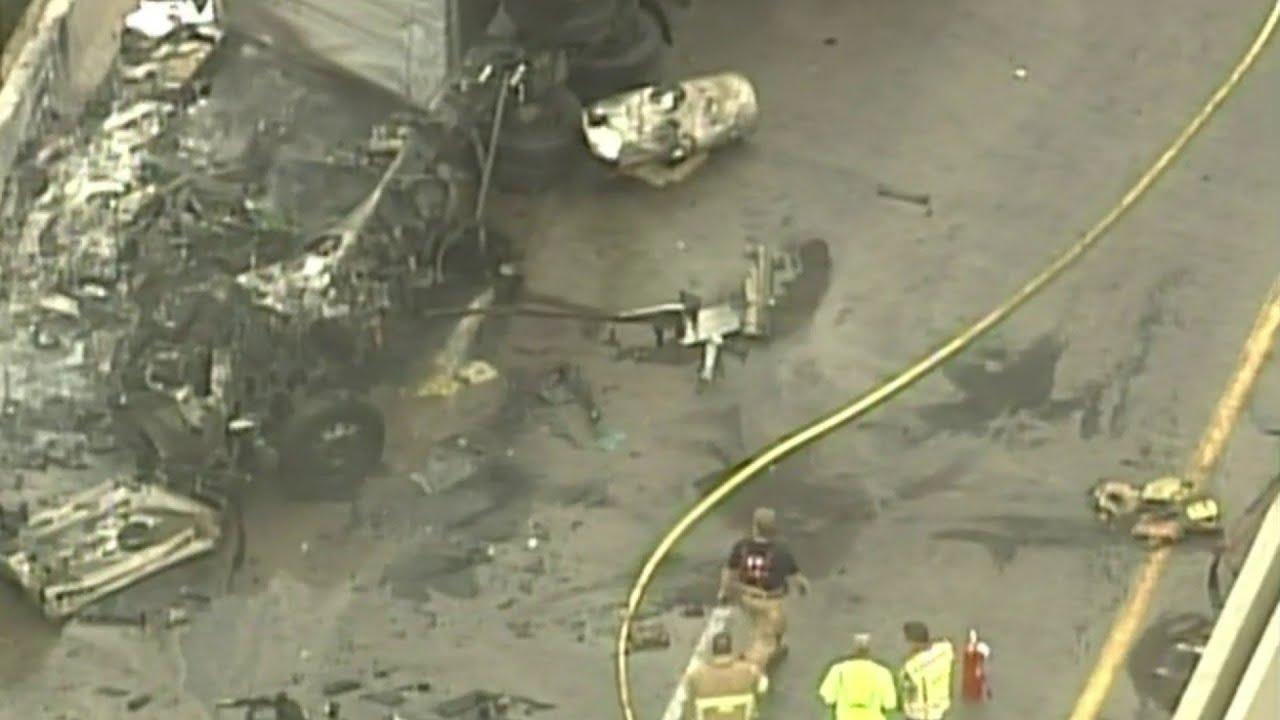 Person killed in M-14 crash in Ann Arbor