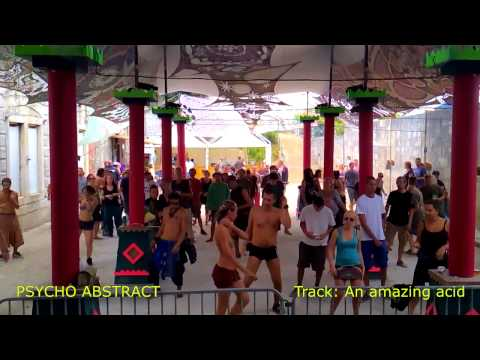 Psycho Abstract - Live @ Future Nature 2015 - An amazing acid