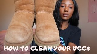 HOW TO CLEAN YOUR UGGS 2019