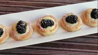 Lemon Berry Tartlets - How To Make Easy Mini Lemon Tarts