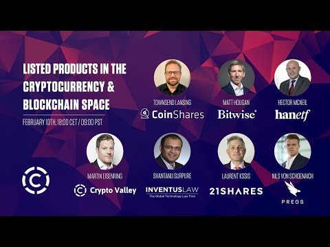 Listed Products in the Crypto Space