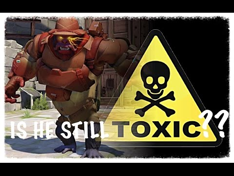Overwatch:  Same Super Toxic Winston (From My First Video)