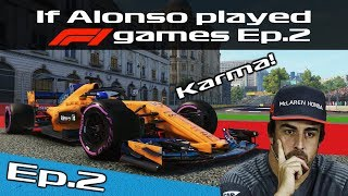 If Alonso played F1 games Ep.2