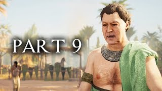 Assassin's Creed Origins Walkthrough Part 9 - DON'T TAKE MY HORSE (AC Origins Let's Play Commentary)