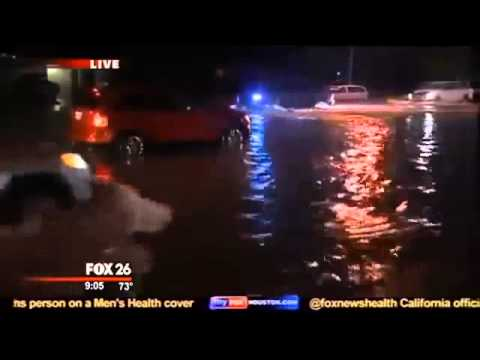weather houston : Hundreds of Cars Lost, Homes Damaged