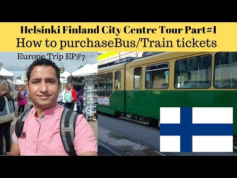 Helsinki city center Finland
