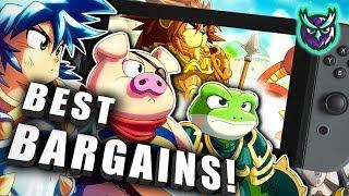 BARGAINS! 22 Switch eShop Game…