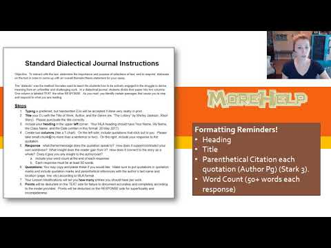 How to complete dialectical journals youtube how to complete dialectical journals maxwellsz