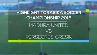 Video Gol Pertandingan Madura United vs Persegres Gresik United