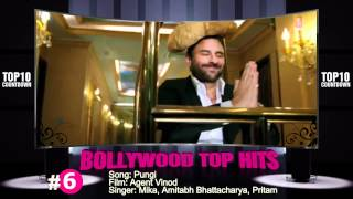 March 12, 2012, Bollywood Top 10 Countdown -Chahat, Muft, Pungi, Chikni Chameli