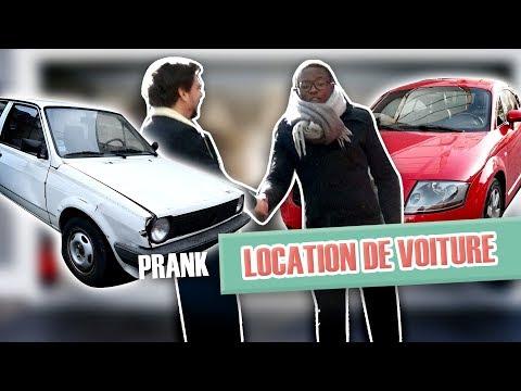 Prank : Je loue une belle voiture de sport, et ramène autre chose...