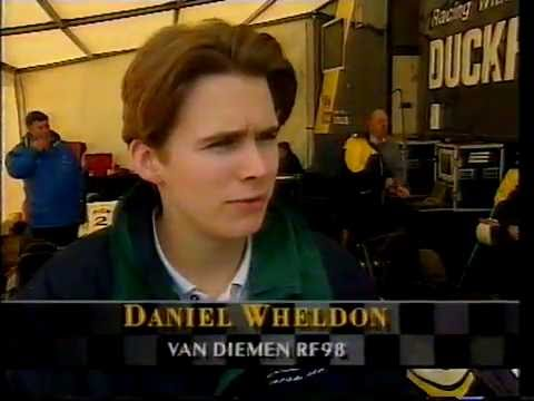 Dan Wheldon vs Jenson Button - Formula Ford 1998 Part 1