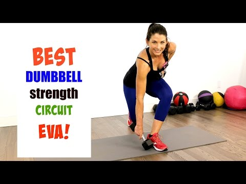 BEST DUMBBELL STRENGTH CIRCUIT - 10 MINUTES PER ROUND