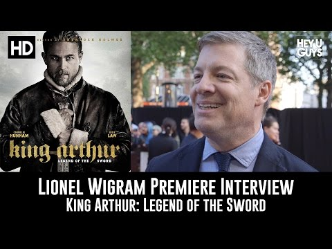 Lionel Wigram Premiere Interview - King Arthur: Legend of the Sword