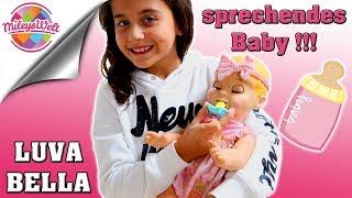 SÜßES sprechendes BABY LUVABELLA - ÜBERRASCHUNG für  Miley | playing with cute Baby - Mileys Welt