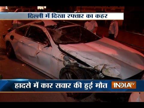 Major Accident At Hazrat Nizamuddin In Delhi Driver Killed Youtube