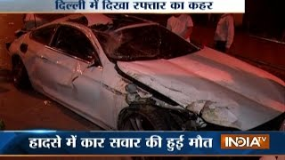 Major accident at Hazrat Nizamuddin in Delhi, driver killed