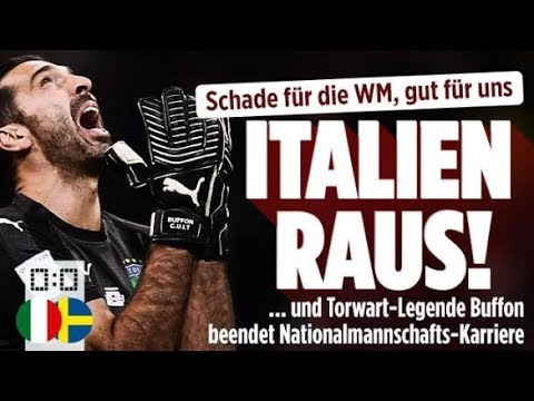 WM-Aus für Italien / Himmelsstürmer-Sängerin stirbt / Lagerfeld greift Merkel an
