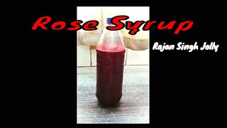 How To Make Rose Syrup At Home (Simple And Easy Recipe)