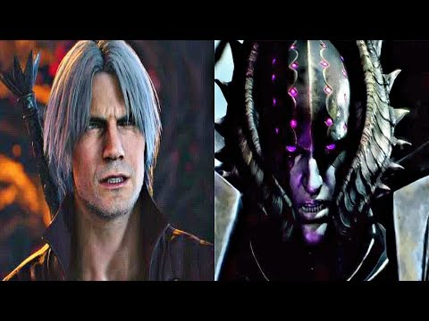 Devil May Cry 5 - Dante vs Cavaliere Angelo Boss Fight (New Gameplay)