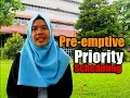 Pre-emptive Priority Scheduling (Indonesia)