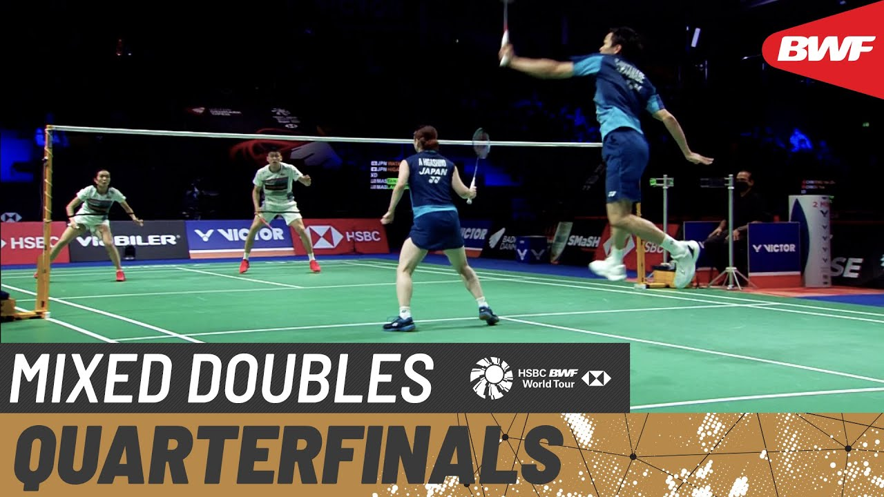 Download VICTOR Denmark Open 2021 | Watanabe/Higashino (JPN) [4] vs Tan/Lai (MAS) | Quarter Finals