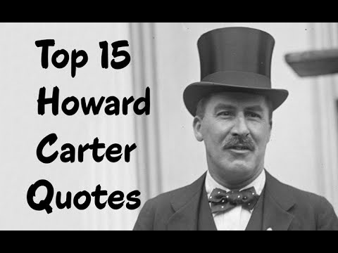howard cater Howard carter was an archaeologist who is known for having excavated king tut's tomb learn more at biographycom.